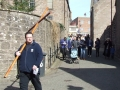 16. March down Church Lane to Cathedral