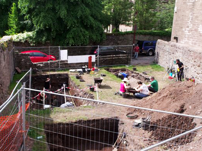 Brechin Cathedral Archaeological Dig 28 June 2010 305