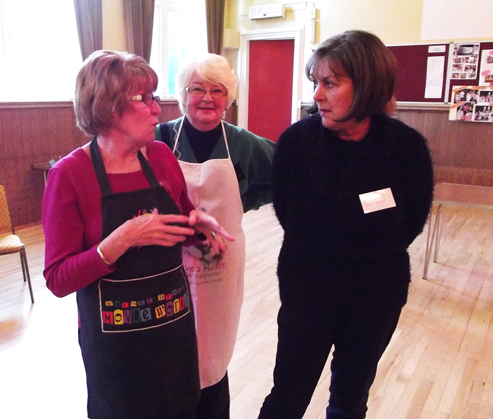 Awesome Messy Church Volunteers Evelyn Marchia and Kathleen
