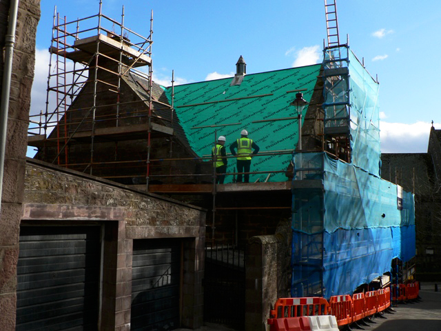 Cathedral Hall Roof Work