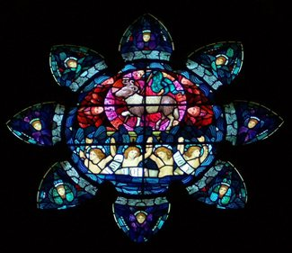 Chancel Rose  Window b