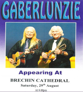 Gaberlunzie at Brechin Cathedral