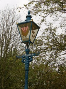 The Provost's Lamp Post at Brechin Cathedral